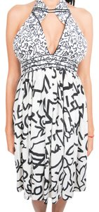 Topshop short dress black and white on Tradesy