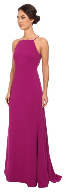 Item - Orchid Deep V-back Pleated Gown Long Formal Dress Size 2 (XS)