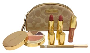Coach Estee Lauder & Coach Holiday Collection *Limited Edition* Gift Set w/ Bonus Skincare Deluxe Samples
