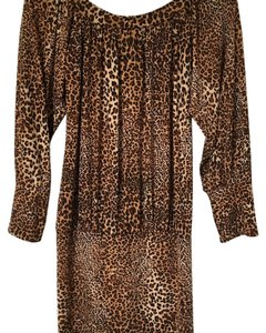 Cheryl Creations short dress Animal Print on Tradesy