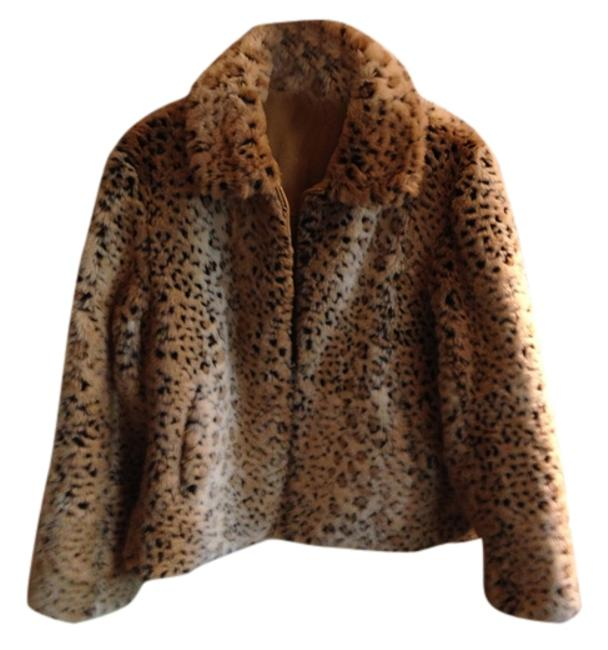 Item - Tan and Brown Jacket Size 8 (M)