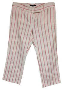 Theory Striped Capri Pants size 10 Capris