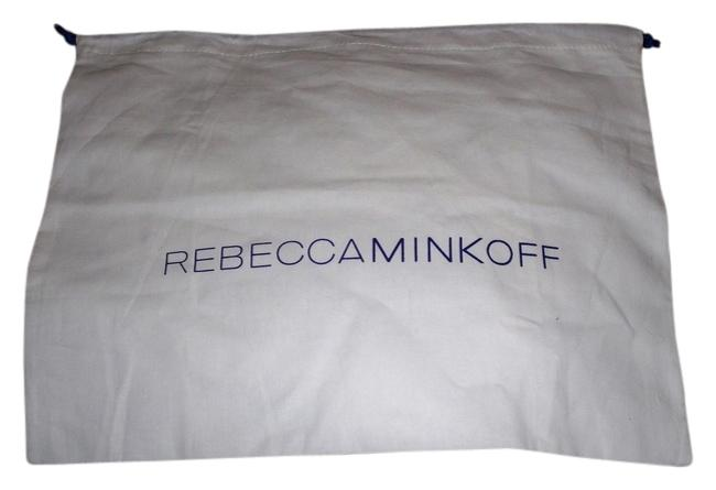 Item - Dust Cover 13 X 10 (Approx) Fabric Drawstring Dust White with Blue Logo Cotton Tote