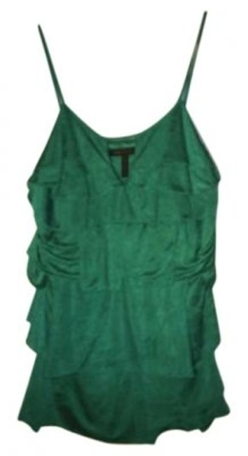 Preload https://item4.tradesy.com/images/bcbgmaxazria-green-ruffle-layered-tank-topcami-size-8-m-131083-0-0.jpg?width=400&height=650
