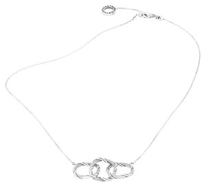 Peter Thomas Roth Signature Romance Trio Circle Necklace in Sterling Silver