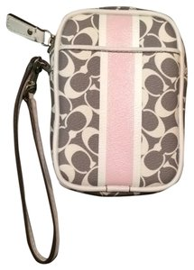 Coach Wristlet in Gray