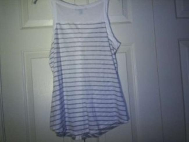 Banana Republic Top grey and white