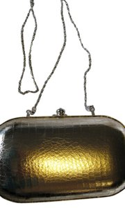 Steven by Steve Madden Metallic Gold Clutch
