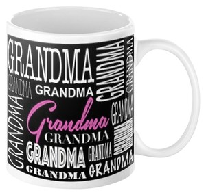 Grandma - 11 oz. Custom Name Coffee Mug