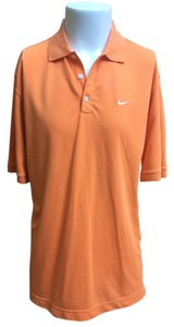 Nike Mens Golf Golf Shirt Mens Sport Polo T Shirt peach