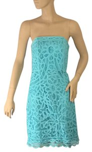 Lilly Pulitzer short dress Aqua blue on Tradesy