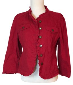 Ann Taylor LOFT Red Jacket