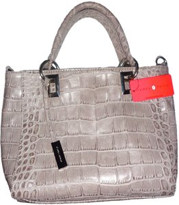 Ivanka Trump Silver Hardware New With Braided Strap Shoulder Bag