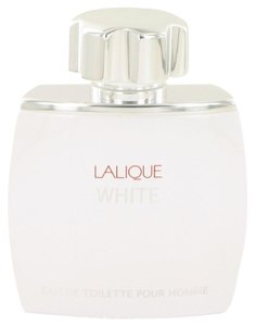Lalique Lalique White by Lalique ~ Men's Eau de Toilette Spray (TESTER) 2.5 oz