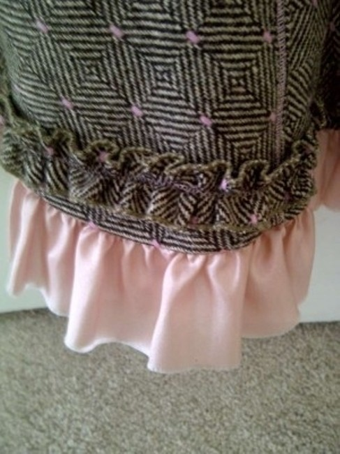 Anthropologie Skirt Brown and Pink