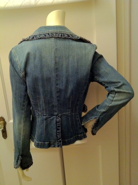INC International Concepts Blue Denim Jacket