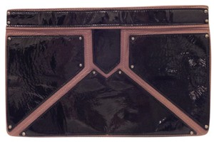 Romygold Black/Brown Clutch