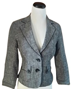 Sequin Hearts blk/white tweed Blazer