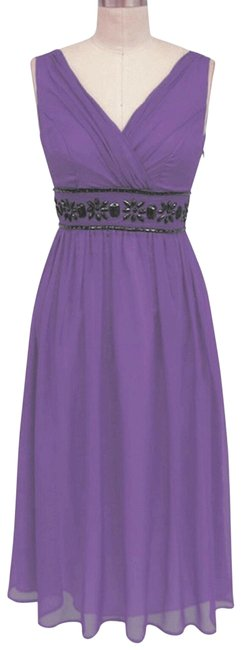 Preload https://img-static.tradesy.com/item/131148/purple-beaded-waist-sizelarge-mid-length-formal-dress-size-12-l-0-2-650-650.jpg