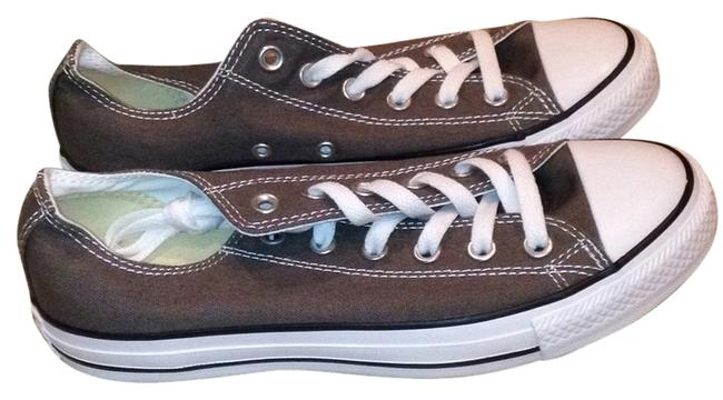 Item - Grey/Green Chuck Taylor Sneakers Size US 8 Regular (M, B)