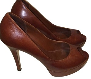 Cole Haan Brown Platforms