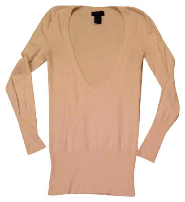 Preload https://item4.tradesy.com/images/frenchi-ivory-dramatic-scoop-neck-sweaterpullover-size-4-s-1311558-0-0.jpg?width=400&height=650