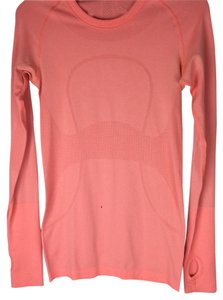 Lululemon Like New Lululemon Coral Swiftly Long Sleeve Size 4