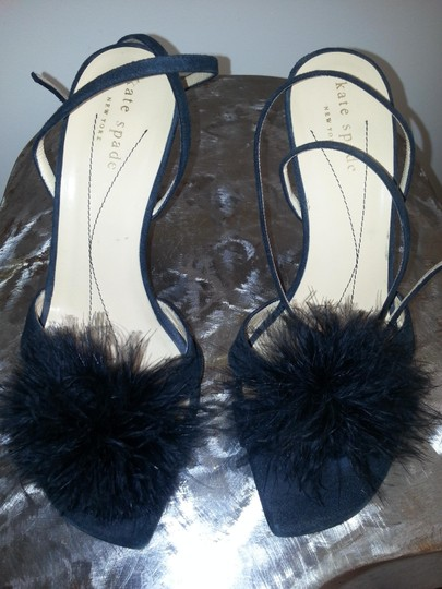 Kate Spade Ostrich Feather Black Formal