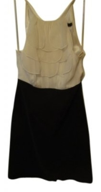 Preload https://item2.tradesy.com/images/bcbgmaxazria-black-and-white-above-knee-cocktail-dress-size-2-xs-13116-0-0.jpg?width=400&height=650