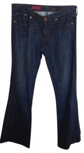 AG Adriano Goldschmied Flare Leg Jeans-Dark Rinse