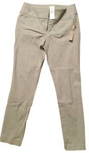 Ann Taylor LOFT Skinny Pants Light gray