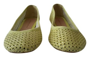 Antonio Melani Summer Yellow / Green (Lemon Freeze) Flats