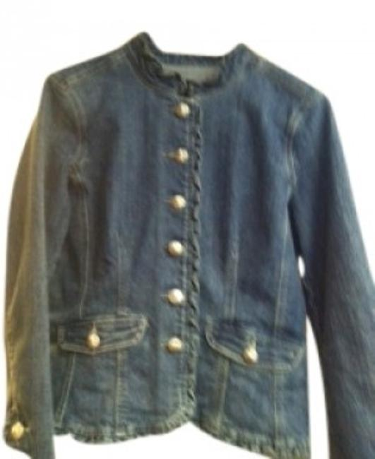 Item - Denim Cute Stylish Jacket Size 12 (L)
