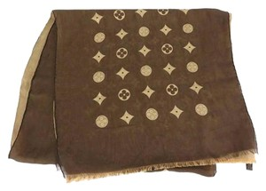 Louis Vuitton SOLD CE 3/23/17 Monogram scarf 200848/