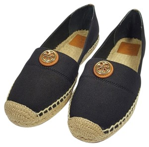 Tory Burch Black/Black Flats