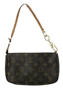 Louis Vuitton Pochette Accessories Wristlet Shoulder Bag