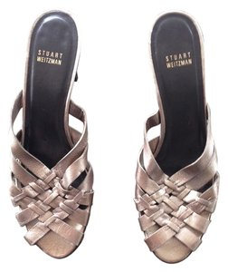 Stuart Weitzman Metallic Sandals