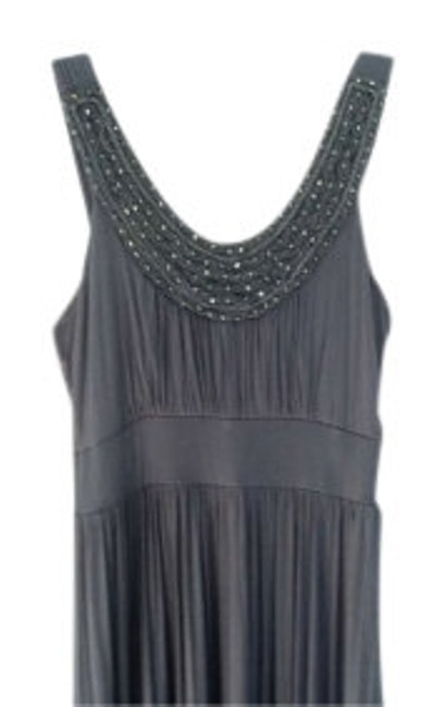 Preload https://item5.tradesy.com/images/soprano-grey-with-beading-long-casual-maxi-dress-size-12-l-131184-0-0.jpg?width=400&height=650