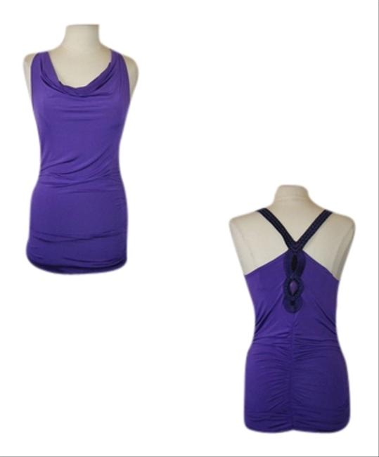 Preload https://item4.tradesy.com/images/kiwi-purple-beaded-tunic-or-dress-m-slinky-stretch-beads-ruched-sexy-night-out-top-size-10-m-1311978-0-0.jpg?width=400&height=650