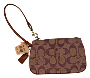 Coach Wristlet in Light Purple