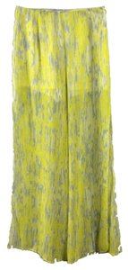 Lovers + Friends Wide Leg Pants Yellow