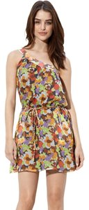 Charlie jade Floral Silk Dress