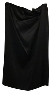 Gucci Skirt Black satin