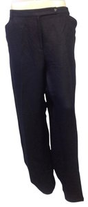 Emma James Plus Size Trouser Pants Navy Blue