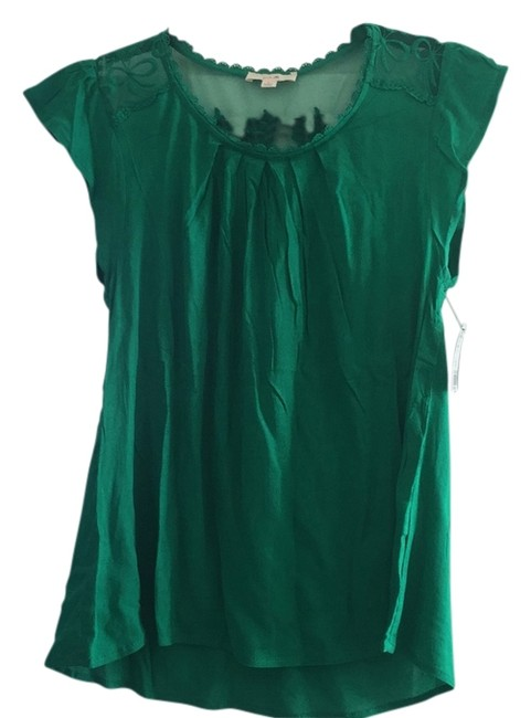 Item - Green Blouse Size 4 (S)