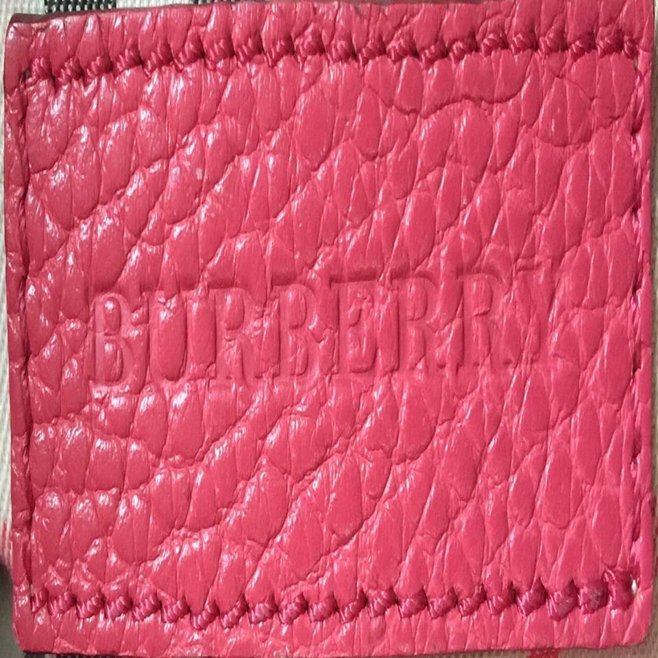 f49a7b51915b Burberry Leah Pebbled Small Pink Leather Cross Body Bag - Tradesy