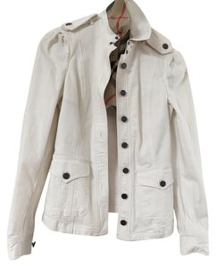Burberry Brit White Womens Jean Jacket