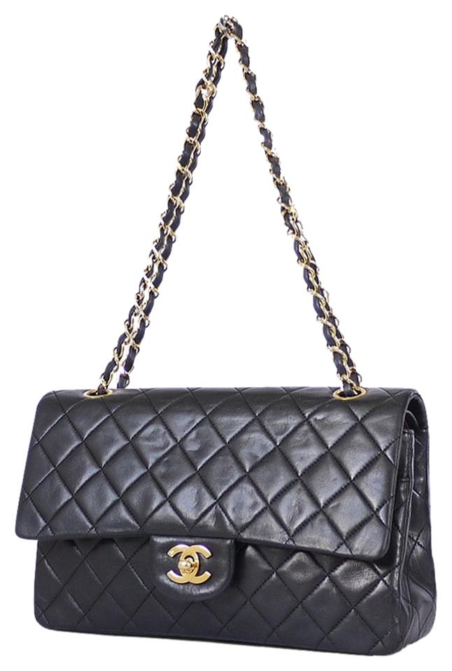 f921d54672af Chanel Vintage Classic 2.55 Double Flap Chain Chic Shoulder Bag Image 0 ...