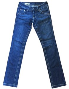Red Engine Straight Leg Jeans