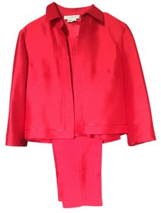 Kay Unger Kay Unger Three Piece Silk Pants Suit